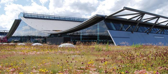 Messe Stuttgart Dachbegrünung
