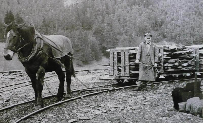 Historisches Bild Ulopor Thüringer Schiefer